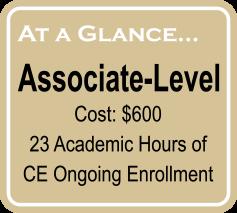 associate overview